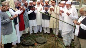 বানেশ্বরপুর হাফিজিয়া ইফতেদায়ী মাদরাসার ভিত্তিপ্রস্তর স্থাপন
